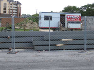 Temporary Construction Fence Anderson Fence Company